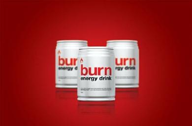 BURN ENERGY DRINK- image