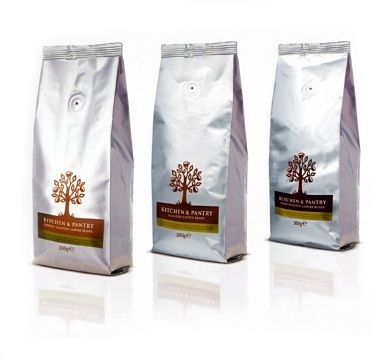 KITCHEN AND PANTRY COFFEE PACKAGING- image