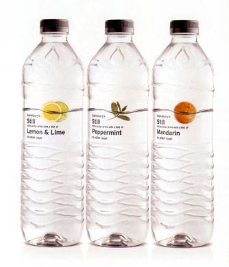 SAINSBURY FLAVOURED WATER- image