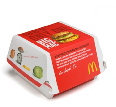 McDONALD'S NEW PACKAGING- image