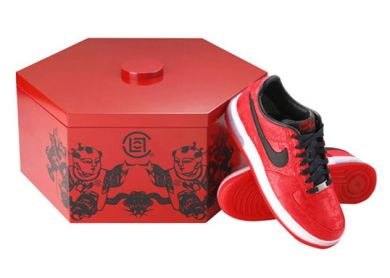 CLOT FOR NIKE AIR FORCE 1- image