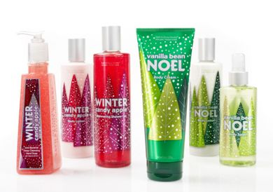 BATH AND BODY WORKS HOLIDAY 2008- image