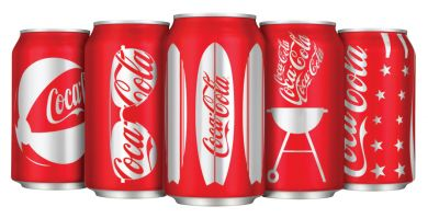 COCA-COLA CANS OF SUMMER- image