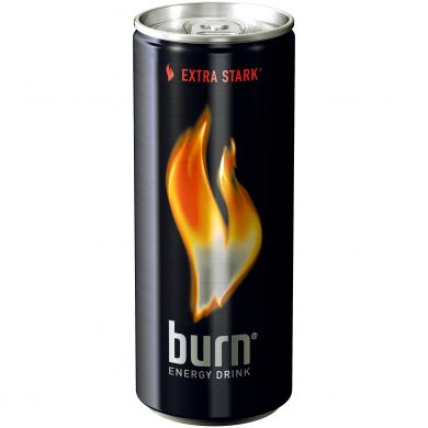 BURN ENERGY DRINK CAN- image