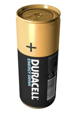 + Duracell Energy Drink- image
