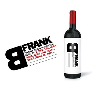 B FRANK WINE- image