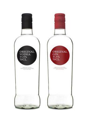ORIGINAL VODKA AND ORIGINAL GIN- image