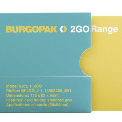 BURGOPAK 2GO RANGE- image