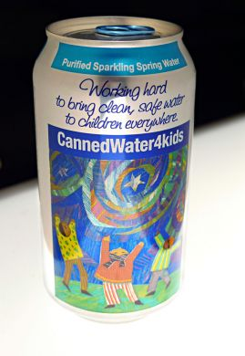 CANNED WATER 4 KIDS- image