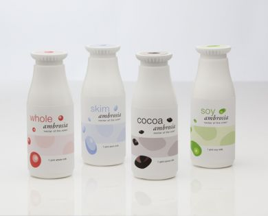 AMBROSIA MILK PACKAGING- image