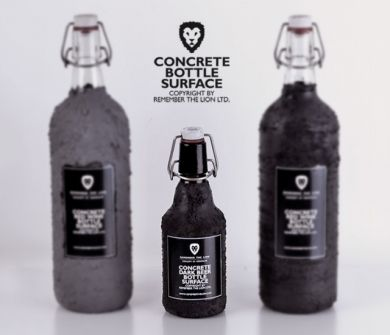 CONCRETE BOTTLE SURFACE- image