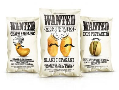 WANTED SNACKS- image