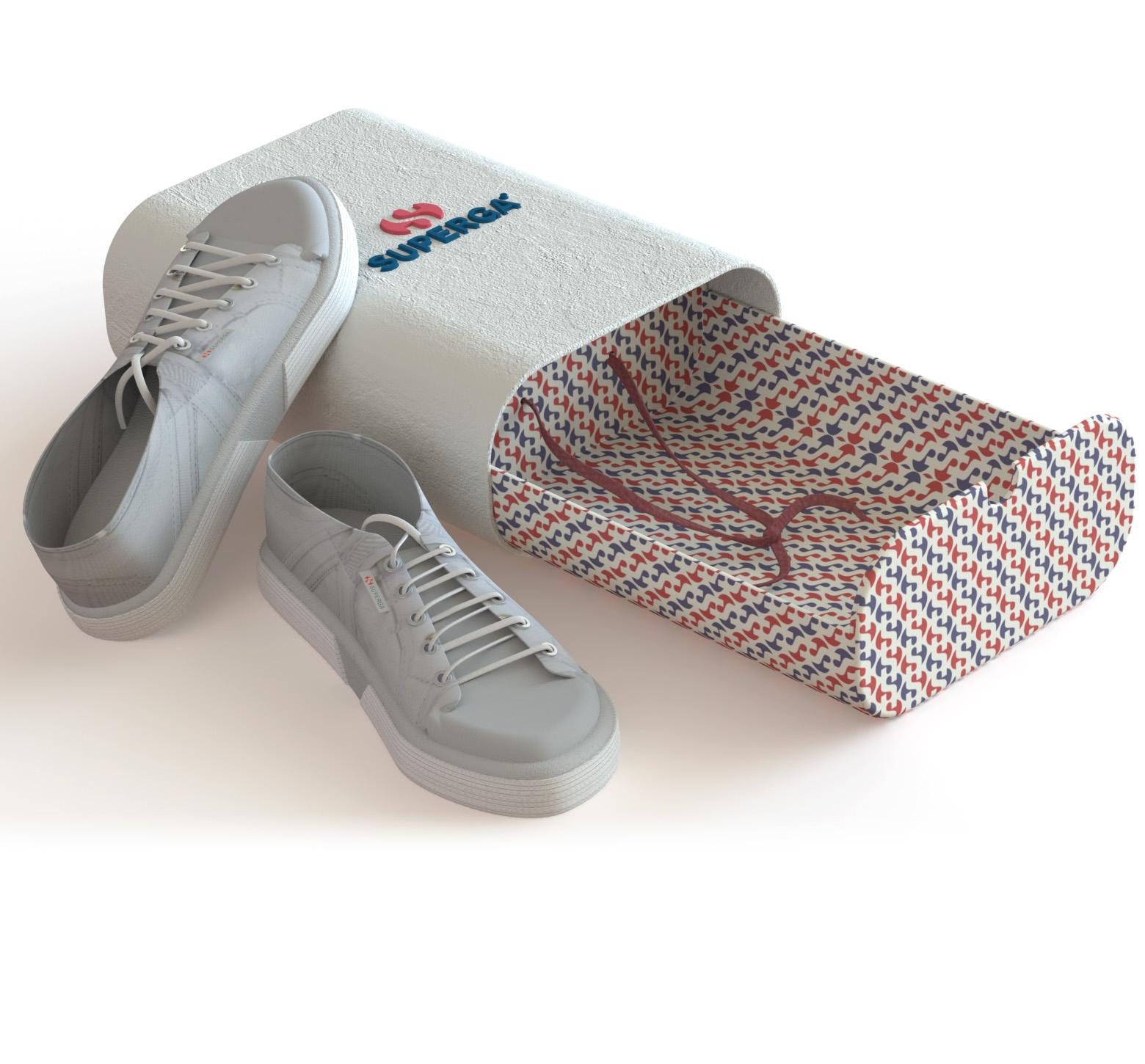 Packaging Design Archive - SUPERGA SHOE BOX