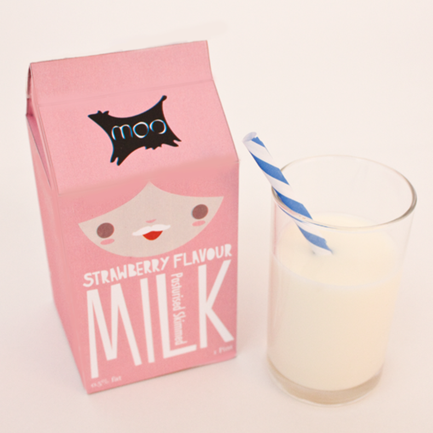 My Two Favorite Things - Candy Review: Strawberry Milk