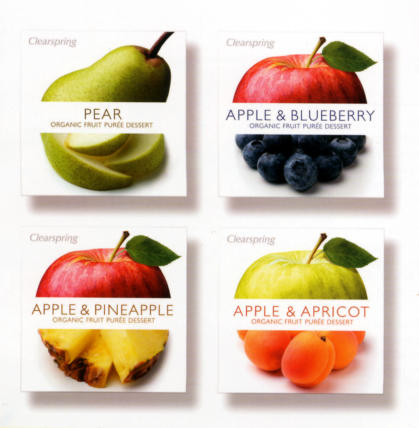 Packaging Design Archive Clearspring Organic Fruit Puree