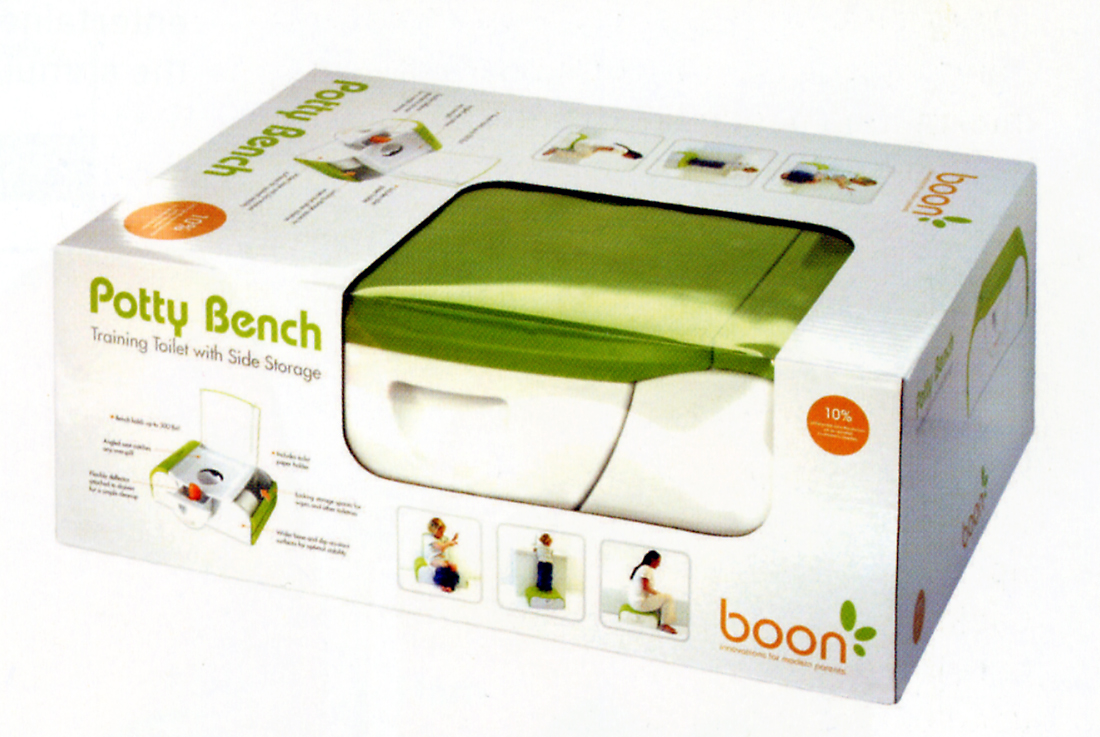 packaging design archive  frog pod deluxe boon's potty banch pack -